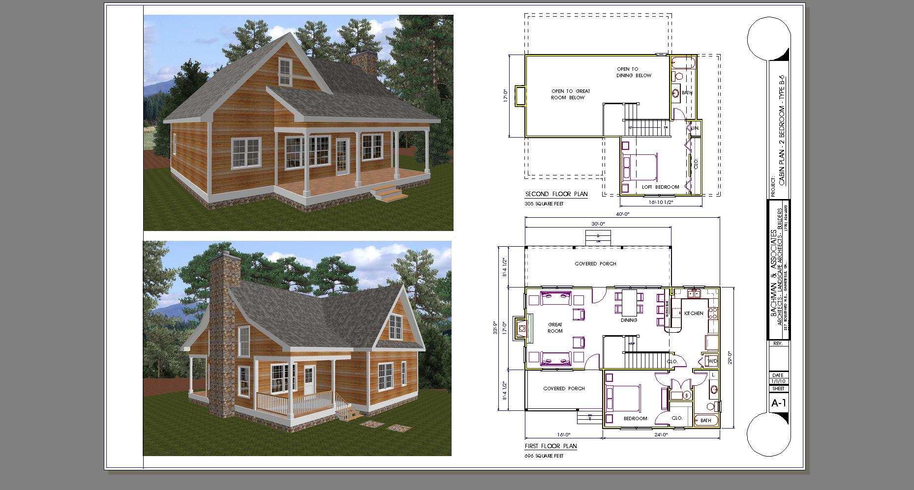 Small 2 bedroom cabin plans bellows afb 1 bedroom cabins for One bedroom cabins to build
