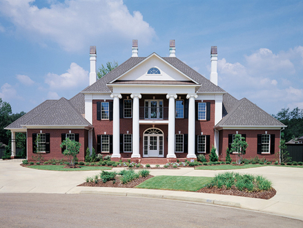 Victorian Style House Southern Colonial Style House Plans