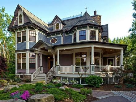Country Style Home Exterior Victorian Style Home Exterior