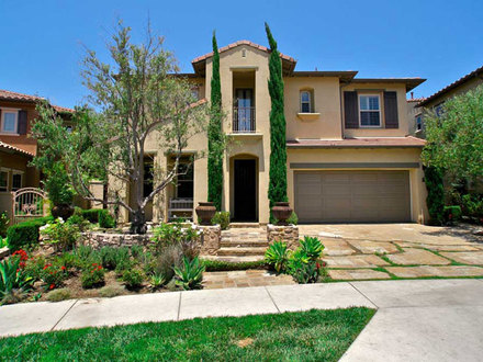 Mediterranean Homes in California California Tuscan Style Homes