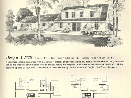 Small Home Plans Gambrel Gambrel Roof House Plans Vintage