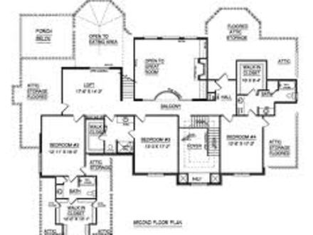4 bedroom home floor plans dream home floor plans i for 4 bedroom dream house