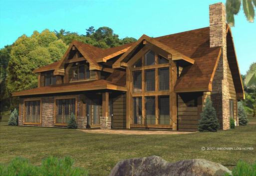 Log cabin home plans designs small log house floor plans for Cabin designs and prices