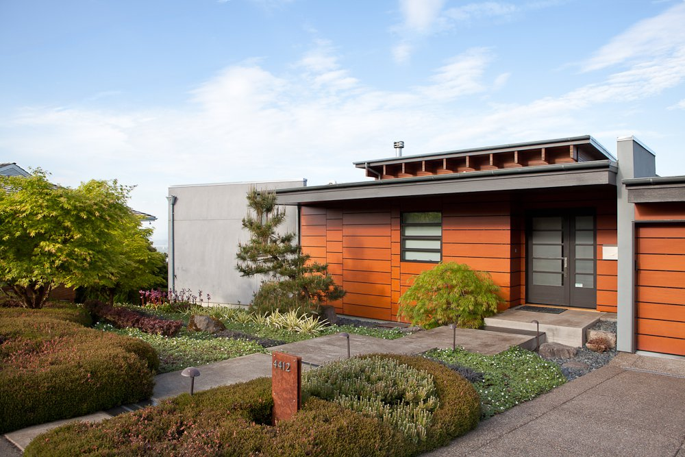 Pacific Northwest Contemporary Homes 1980s Contemporary Home Architecture