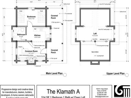 Small cabin floor plans hunting cabin plans with loft for Rustic home plans with loft