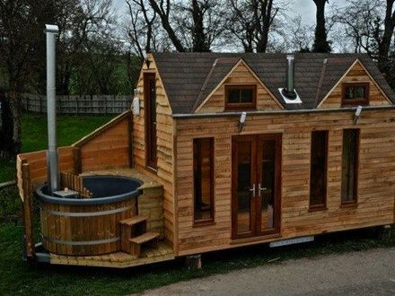 Tiny House with Hot Tub Tiny Houses with No Loft
