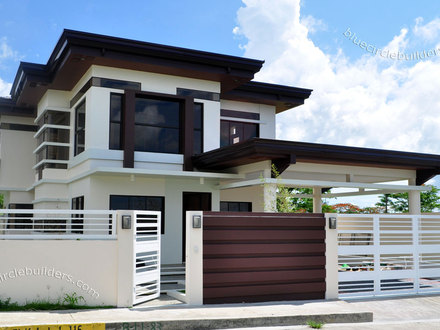 Two-Storey House Designs Modern Two Storey House Designs