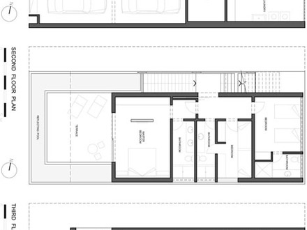 3 Story Beach House Floor Plans 3-Story House with Pool