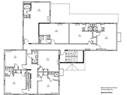 Small Square House Simple Square House Floor Plans