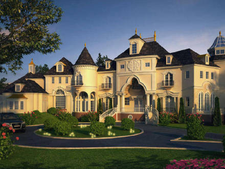 Luxury Mansions in US Luxury Dream Homes Mansions