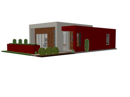 Metal Contemporary Small House Small Modern Contemporary House Plans