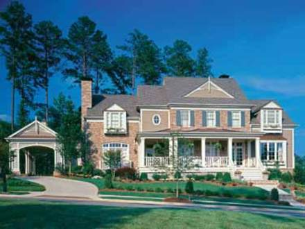 Stately Colonial House Plans House Plans with Bonus Room