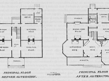 Urban row house plans victorian row house plans new old for Victorian row house plans