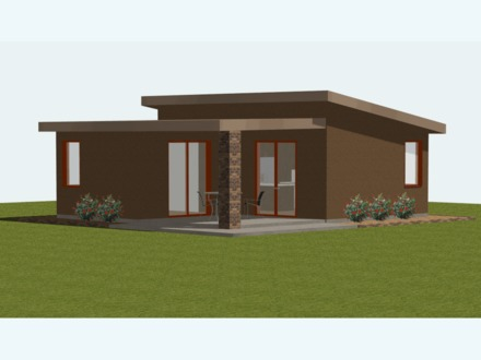 Small Modern House Plans Ultra- Modern Small House Plans
