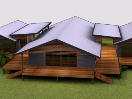 Cheap modern home designs dwell home plans cheap house for Portable bungalow for sale