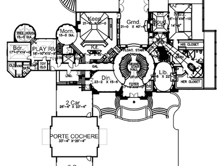 Groped Luxury Mansion Floor Plans European Mansion Floor Plans