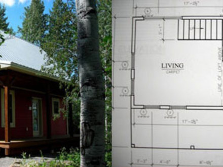 Little Red Cabin Plans 24 X 36 Cabin Plans
