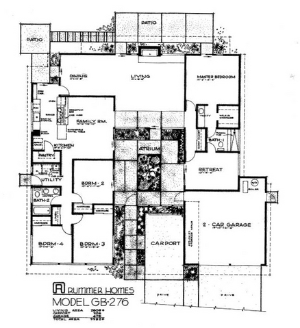 Rummer homes floor plan rummer homes portland oregon for House plans oregon