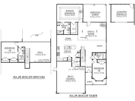 2 Story House Plans Modern 2 Story House Floor Plan