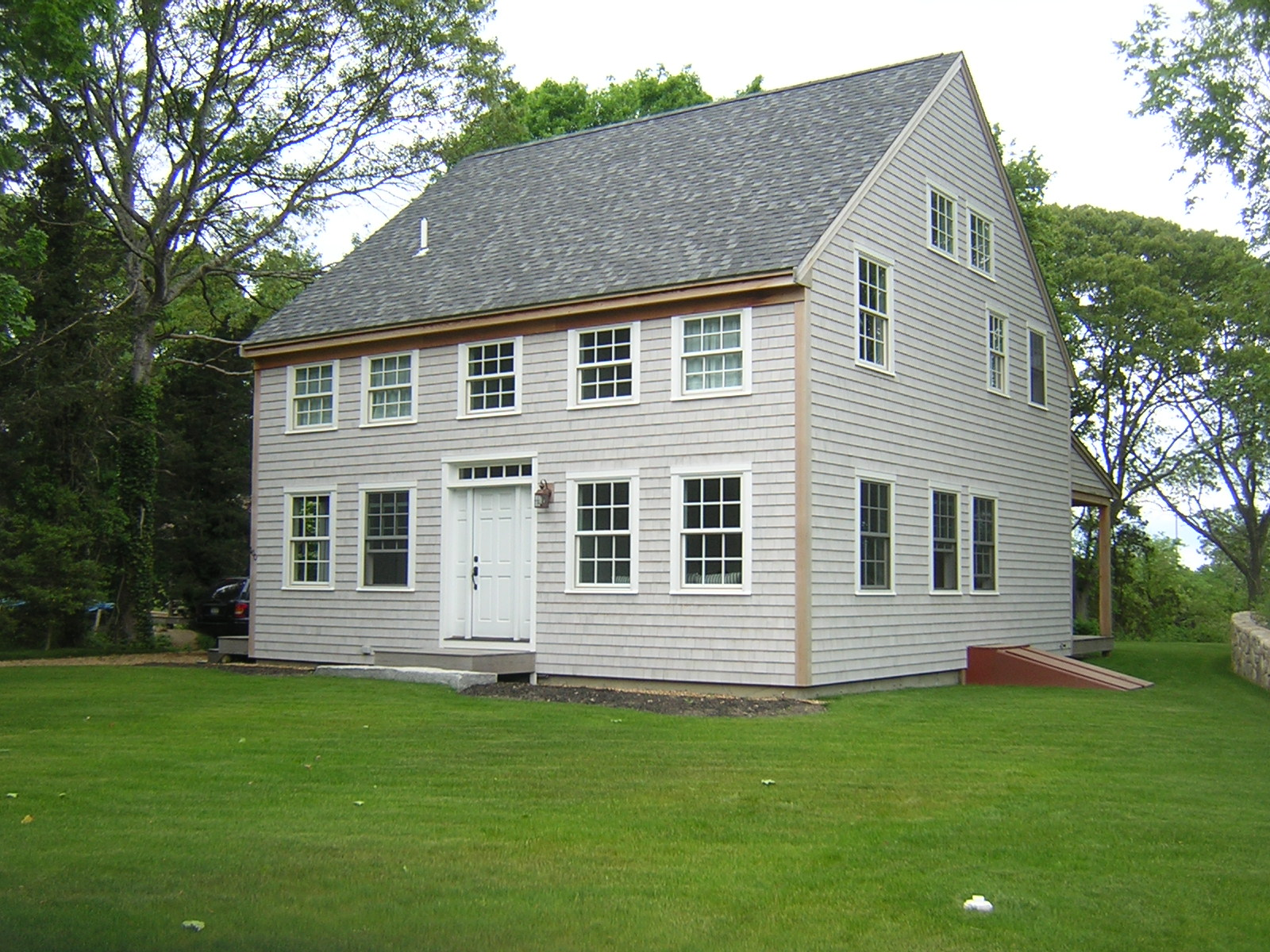 Timber frame homes small house designs small timber frame for Small colonial house plans