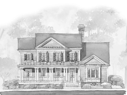 Colonial Open Floor House Plans Open Floor Plan Blueprints
