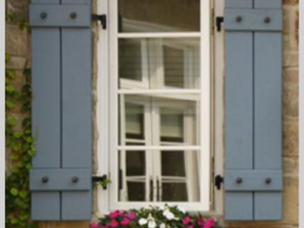 French Country Window Shutters French Exterior Shutters