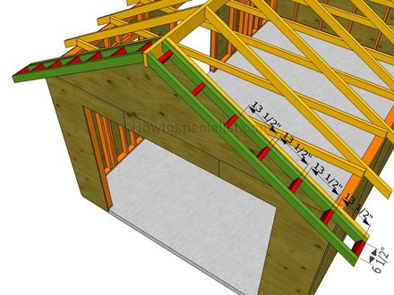 Gable End Roof Framing Gable Roof Overhang Framing