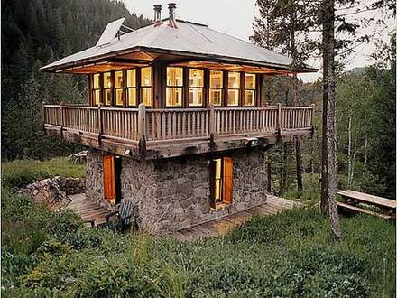 Inside Fire Lookout Towers Fire Tower Cabin Plans