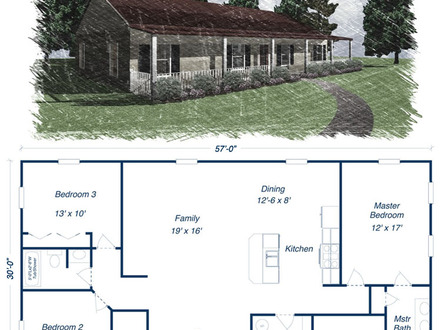 Metal Building Homes Floor Plans Metal House Kits and Plans
