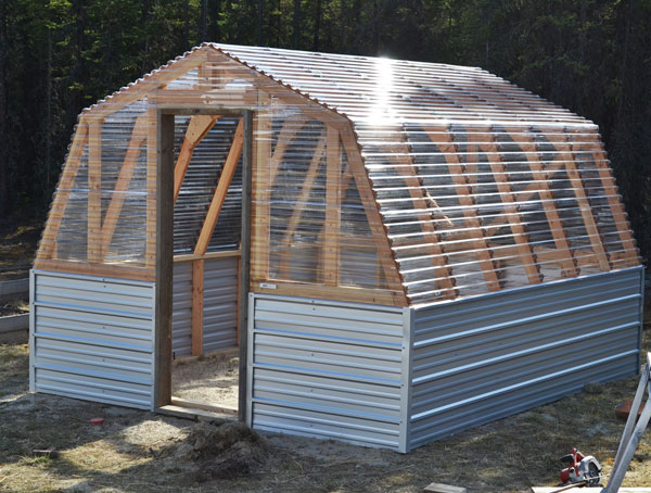 Barn Greenhouse Plans DIY Greenhouse Plans Wood
