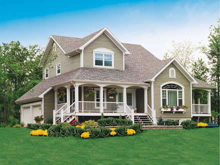 Country Farmhouse House Plans Old-Style Farmhouse Plans