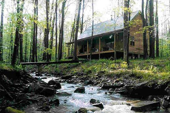 Hunting cabins on piers log cabin on piers building a for Cabin foundation piers