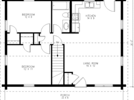 Small Modern House Simple Small House Floor Plans
