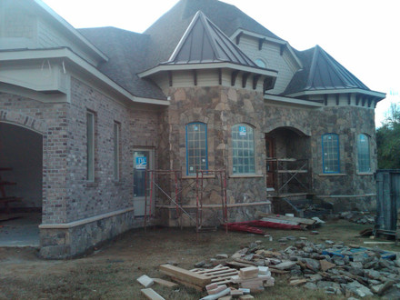 Homes with Brick and Stone Veneer Brick & Stone Exteriors Homes