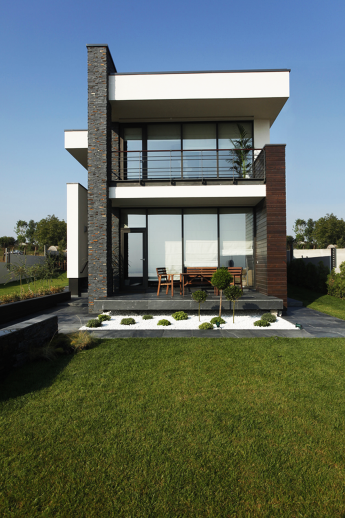 Inexpensive Contemporary Modern House Home Contemporary