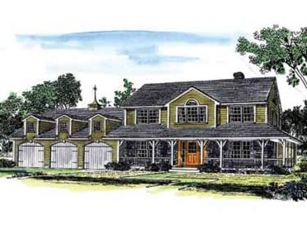 House plans with rv garages attached house plans with rv for House plans with 3 car attached garage
