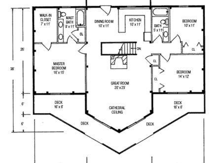 Post and beam home floor plans prefab homes poole house for Post and beam ranch homes