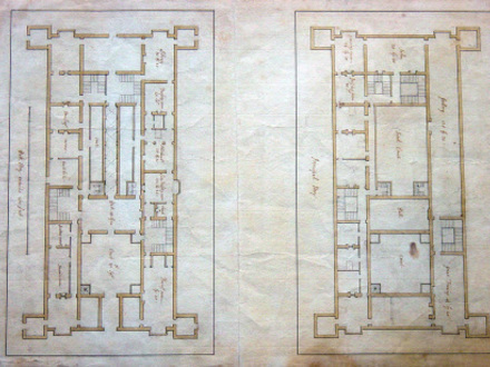 18th century colonial home interiors 18th century peasant for 18th century house plans