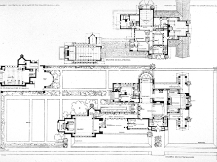 Frank Lloyd Wright Designs Frank Lloyd Wright Dana House Plan