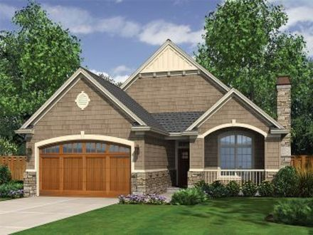 Narrow Lot Cottage House Plans One Story Narrow Lot House Plans