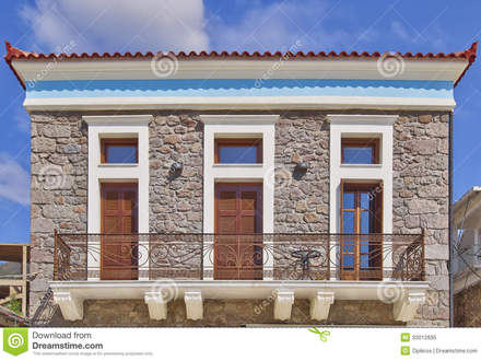 Neoclassical House Facade Neoclassical Architecture