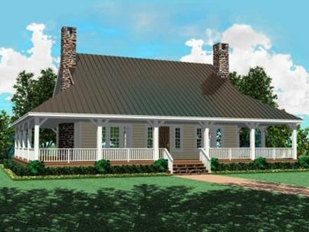 Hip Roof with Wrap around Porch House Plan Sports Hip Wrap