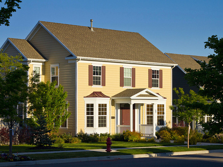 New Victorian Style Homes New Colonial Style Homes