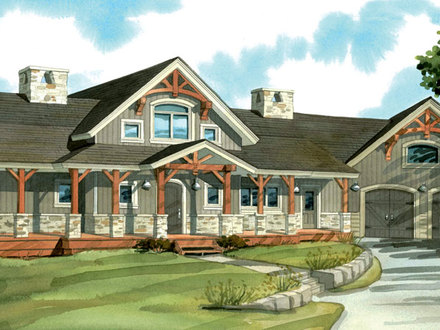Timber Frame House Plans Custom Timber Frame Home Plans