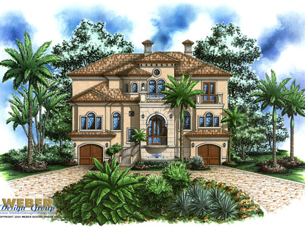3 Story Mediterranean House Plans 100 Story House