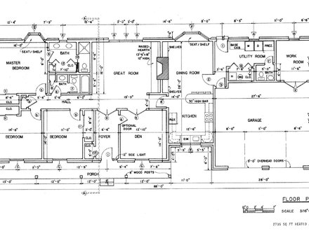 Ranch House Floor Plans Open Floor Plans Ranch House