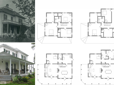 Old farmhouse plans for Simple farmhouse floor plans