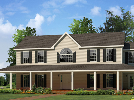 French country house plans with porches french country for Country style homes wa
