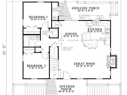 3 Bedroom Beach House Floor Plan 3-Bedroom Villas in Tobago