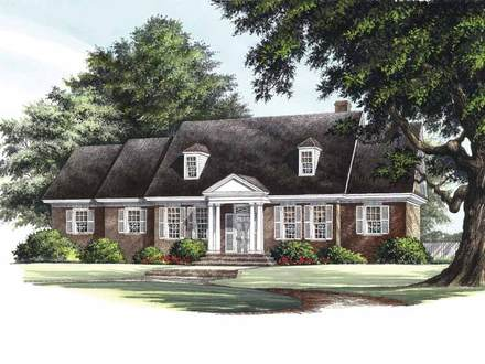 3-Bedroom Condo 3 Bedroom Colonial House Plans